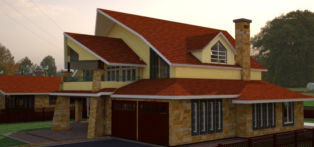 Home kenyan construction for Types of houses in kenya
