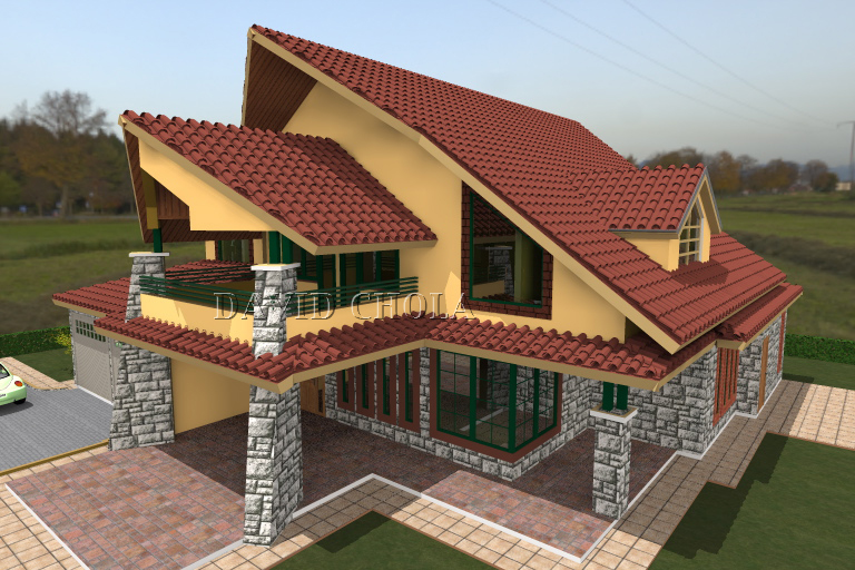 Kenani homes luxurious town houses for sale in kenya for Kenyan house designs
